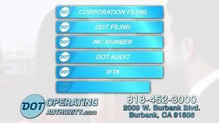 USDOT Number | DOT Operating Authority | (888) 669-4383