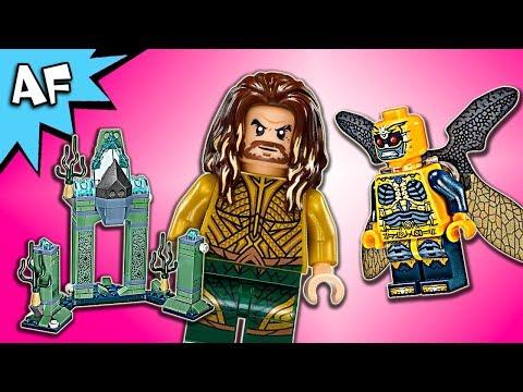Lego DC Justice League Aquaman BATTLE of ATLANTIS 76085 Speed Build