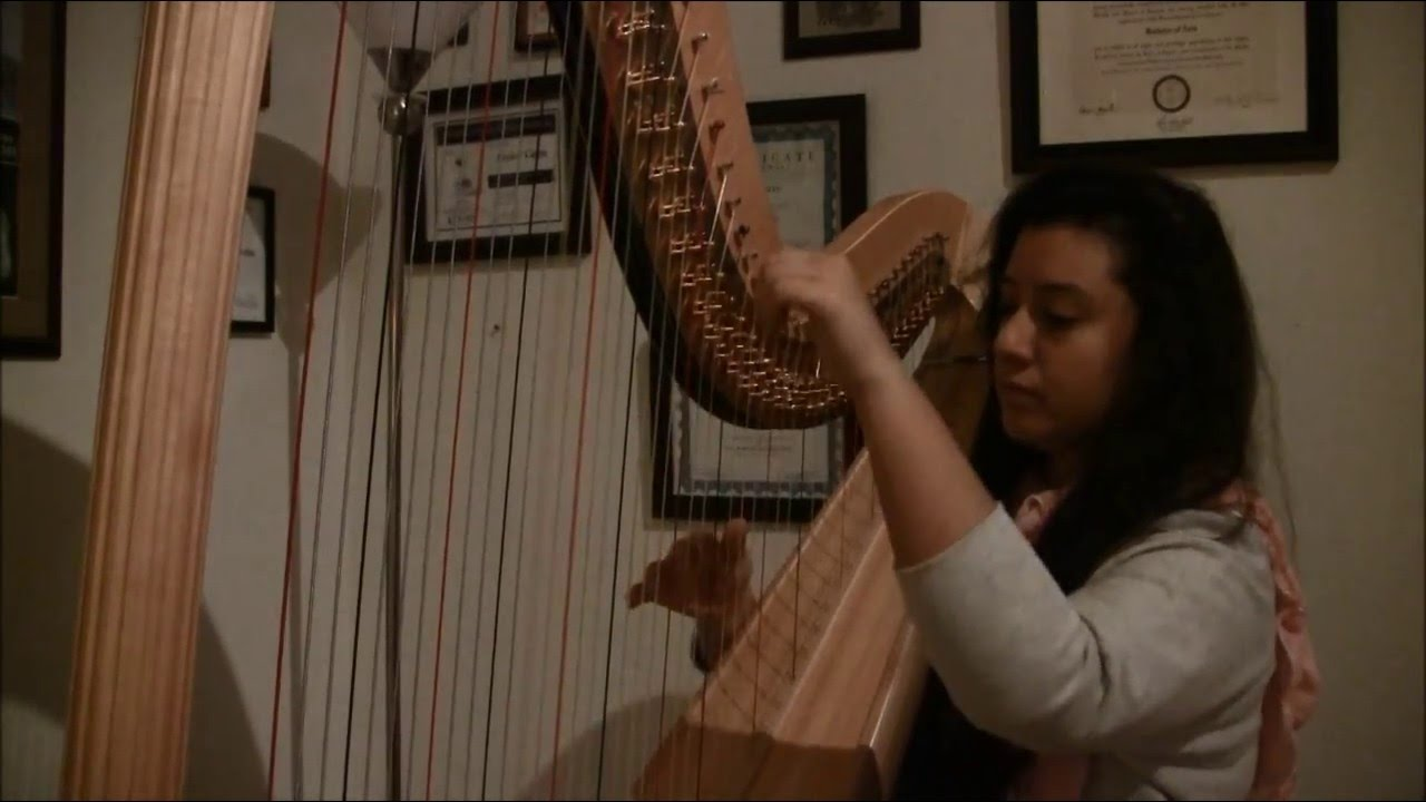 Hallelujah by leonard cohen harp cover youtube hallelujah by leonard cohen harp cover hexwebz Image collections