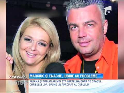 Iuliana Marciuc şi Adrian Enache s-au despărţit
