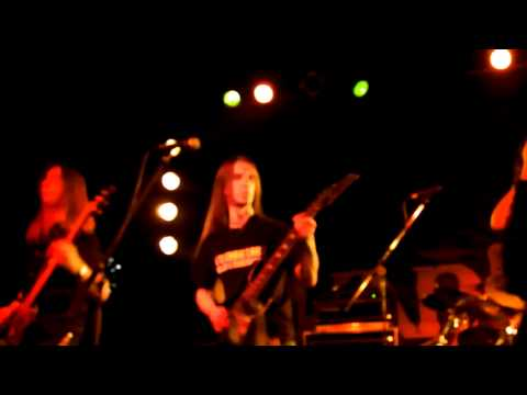 Amberian Dawn - Shallow waters (Out of the Dark  Festival 2011. Club 202 Budapest).MP4