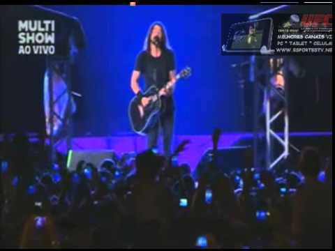 Foo Fighters Rio de Janerio - Estadio Maracana 25/01/15