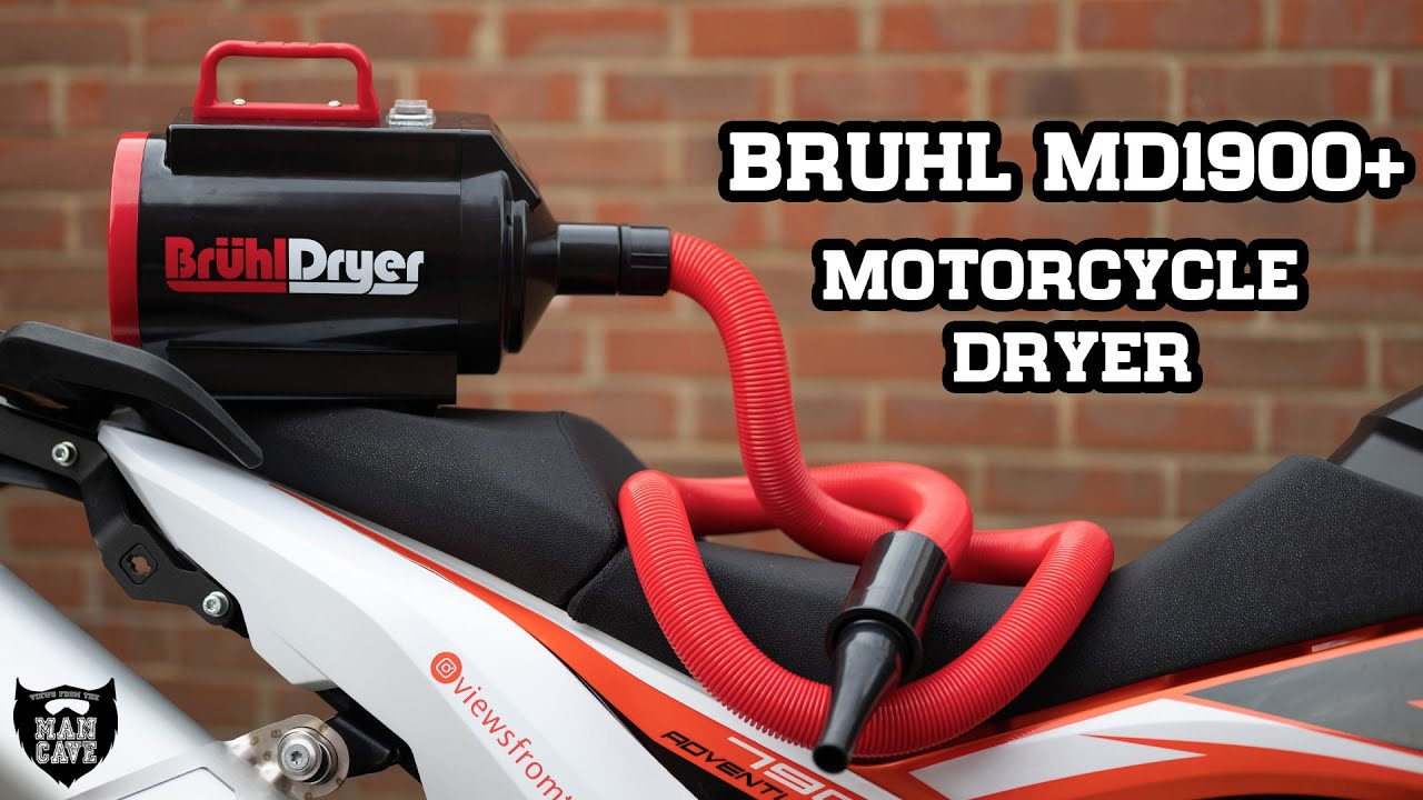 Bruhl Md1900 Motorcycle Dryer The Tool You Never Knew You Needed Youtube