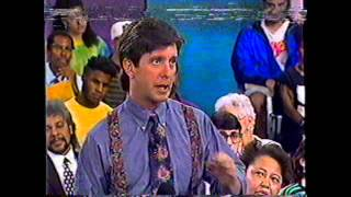 """People AreTalking"" with Tom Bergeron-Guest Spike Lee (clip) 1990"