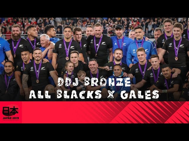 DDJ Bronze - All Blacks x Gales:  Nó na garganta na despedida do Tokyo Stadium.
