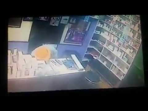 Natural live Death record in CCTV camera in 1 mintue