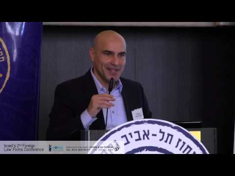 Efi Nave Opening speech - Israel 2nd foreign law firms conference (Robus Legal Marketing)