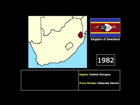 [Countries] Modern History of Swaziland