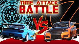 I just tried to do some kind of time attack battle in GT6. This is ...