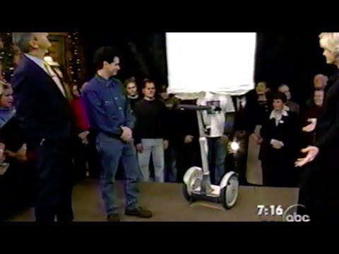Segway intro on Good Morning America Dec 3, 2001