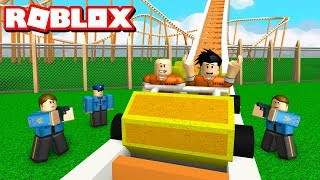JAILBREAK ROLLER COASTER! - Roblox Adventures