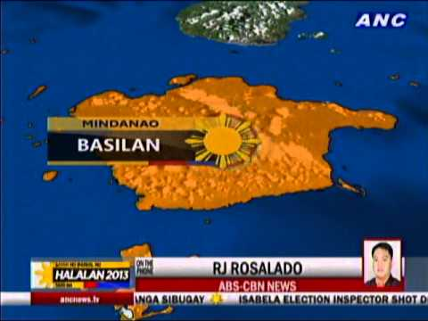 Ballots, PCOS machines snatched in Basilan