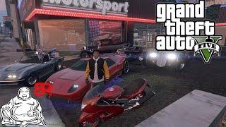 GTA V MODS LIVE!   ILLEGAL STREET RACES, REPO JOBS & SPENDING SPREE!!!