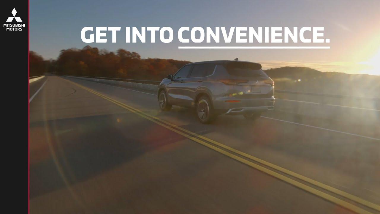 2022 Mitsubishi Outlander | Get Into Convenience