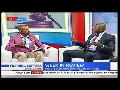 Morning Express: Secession politics in the country