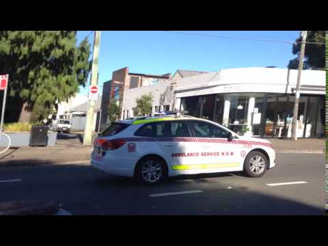 NSW Ambulance - Inspector 1492 Responding