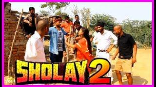 शोले के गब्बर और बसन्ती का प्यार //गब्बर की हास्यलीला//शोले फिल्म कॉमेडी
