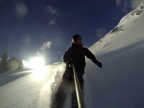 Brett Hills & Terah Blake - Taos Ski Valley - Kachina Peak