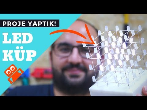 LED Küp Yapımı 4x4x4  (Detaylı) - Arduino