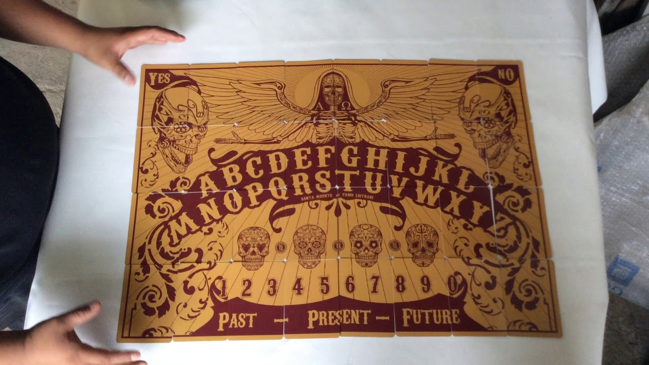 Oráculo Santa Muerte - YouTube
