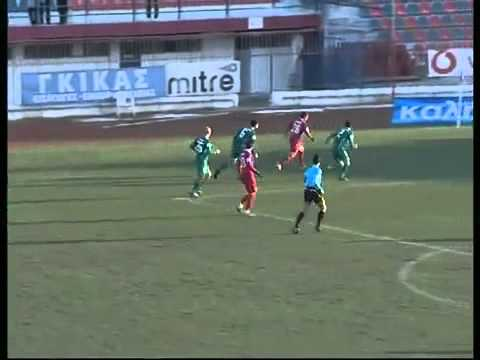 Greek Football Team Hits Crossbar, Both Posts and Still Miss the Goal - Funny