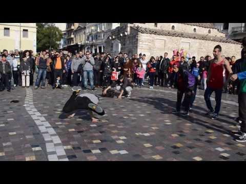 break dance - Monastiraki  [HD]