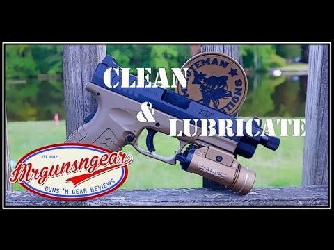 How To Clean & Lubricate A Springfield Armory XD Or XDM Pistol (HD)