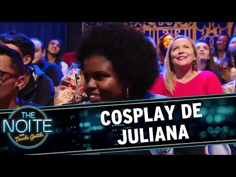 The Noite (02/06/16) Monólogo: Cosplay da Juliana