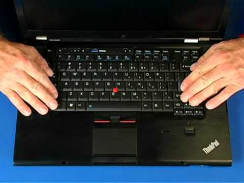 Lenovo ThinkPad T510, T520, T530, W 510, W520, W530 Keyboard removal