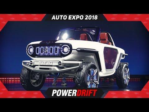 Maruti Suzuki E Survivor Concept @ Auto Expo 2018 : PowerDrift