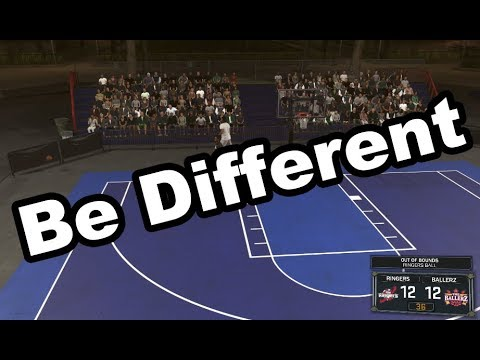 Be An Individual In Basketball Do Something Different
