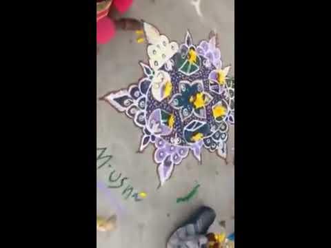 பொங்கல் திருவிழா கோலம் போட்டி- 2
