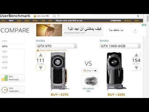 ترتيب كروت الشاشه AMD - Nivida من حيث القوه - YouTube