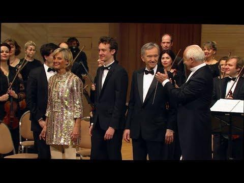 Mozart Concerto for 3 Pianos K 242 V. Spivakov, F. Arnault, H. Mercier, B. Arnault.
