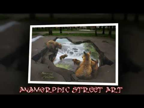 Anamorphic Street Art – Amazing 3D Paintings