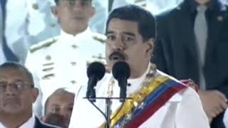 Video: Maduro exige a EEUU, México y Colombia aclarar supuesto complot