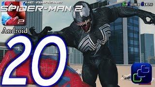 The Amazing Spider-Man 2 Android Walkthrough - Part 20 - Episode 5 Completed VENOM Battle