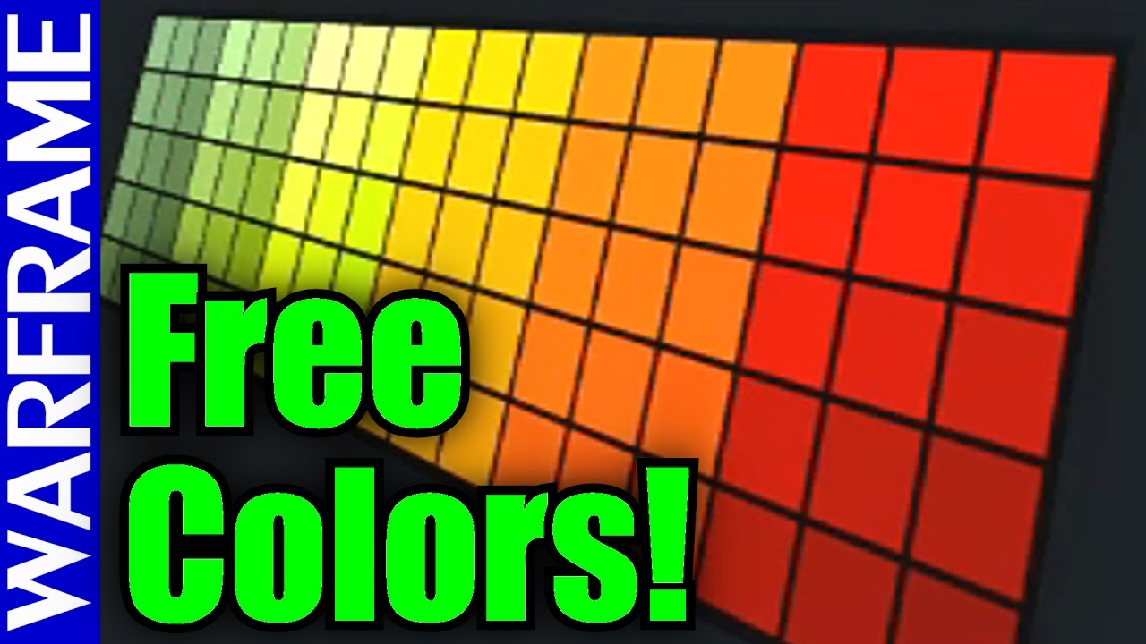 Warframe F2P Tenno! Free Halloween Color Palette PSA [Limited Time ...