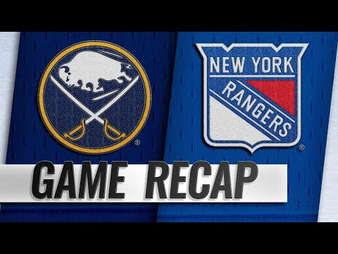 Vesey, Lundqvist lead Rangers to 3-1 win at home