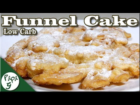 Low Carb Funnel Cake