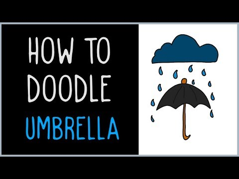 How to Draw an Umbrella (drawing tips)