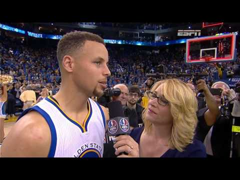 Warriors Win 73! Stephen Curry Post Game