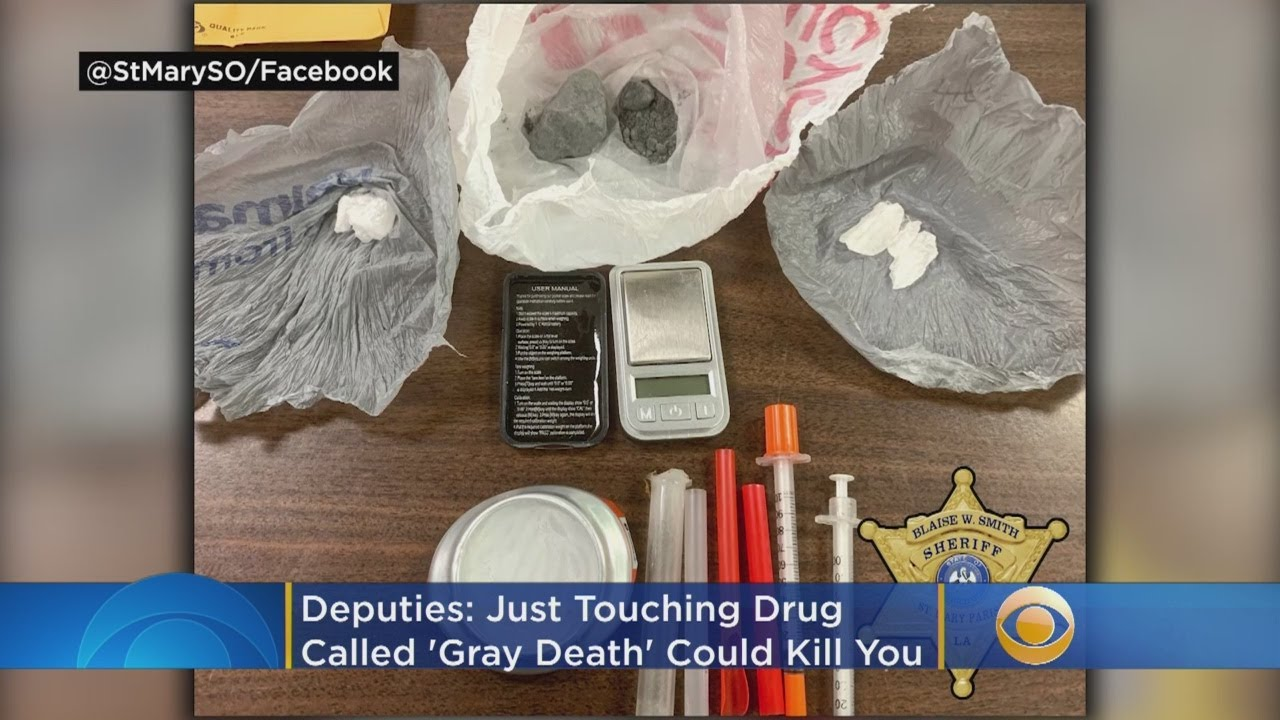 Deputies: Just Touching 'Gray Death' Drug Could Kill You