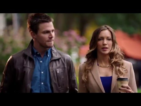 Oliver Talks about Laurel's Drinking Problem CW Arrow Scene