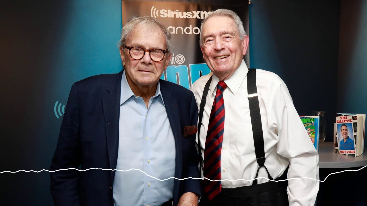 Dan Rather & Tom Brokaw Ask Each Other a Question They Always Wanted to Know