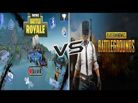 Fortnite VS PUBG: Viewer and Sub Game Wednesdays come join!!