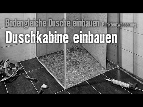 bodengleiche dusche einbauen punktentw sserung kapitel 4 hornbach meisterschmiede youtube. Black Bedroom Furniture Sets. Home Design Ideas