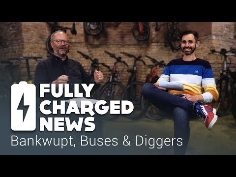Bankwupt, Buses & Diggers | Fully Charged News
