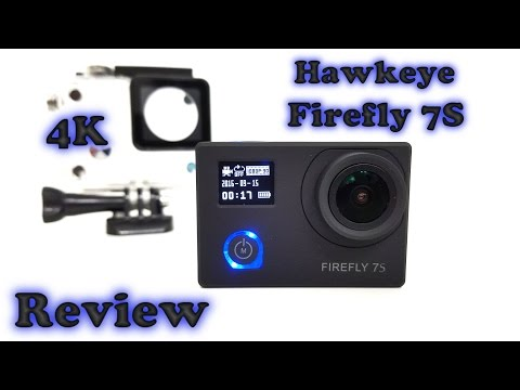 Hawkeye Firefly 7S Action Camera REVIEW & Sample videos