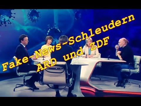 Fake News Schleudern ARD und ZDF